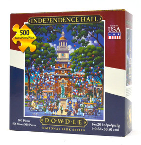 Independence Hall jigsaw puzzle