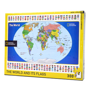 The World and its Flags (Large Pieces)