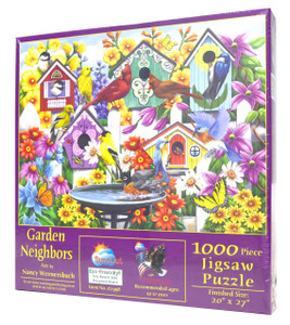 Garden Neighbors 1000-Piece Jigsaw Puzzle