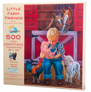 Little Farm Friends Puzzle