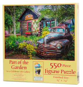 Part of the Garden Jigsaw Puzzle