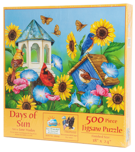 Days of Sun Jigsaw Puzzle