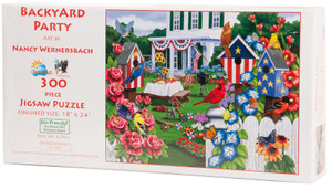 Backyard Party Jigsaw Puzzle