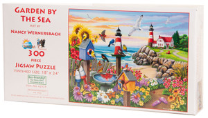 Garden by the Sea Jigsaw Puzzle