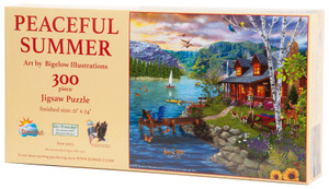 Peaceful Summer Jigsaw Puzzle