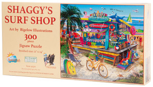 Shaggy's Surf Shop 300-piece Jigsaw Puzzle