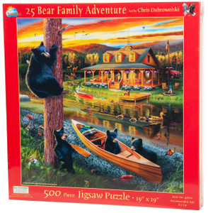 25 Bear Family Adventure
