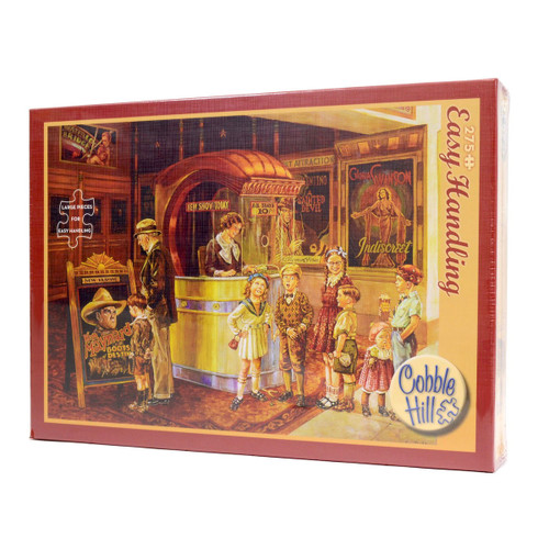 Saturday Matinee Puzzle (275 Large Piece Easy Handling Puzzle)