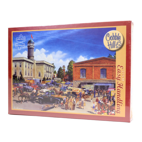 Farmer's Market (275 Large Piece Easy Handling Puzzle)