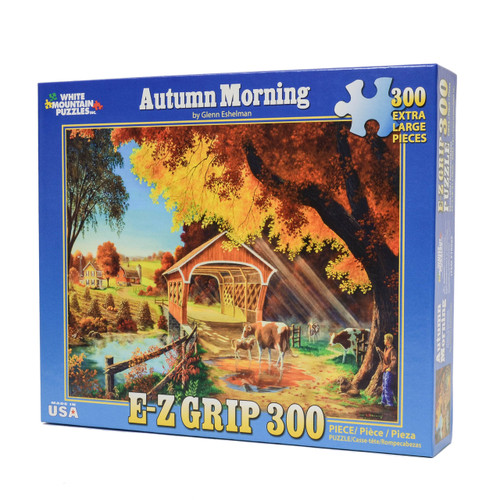Autumn Morning (300 Large Piece EZ Grip Puzzle)
