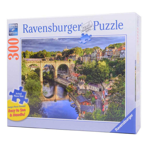 Over the River (300 Piece Large Piece Jigsaw Puzzle)