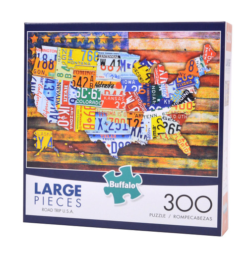 Road Trip USA (300 Large Piece Puzzle)