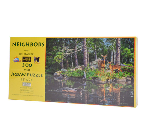Neighbors (300 Large Piece Puzzle)