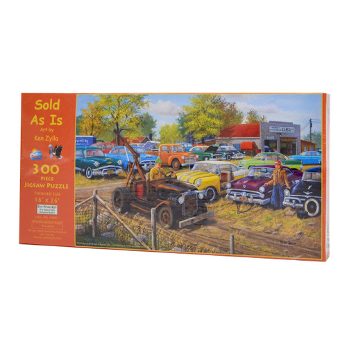 Sold As Is (300 Large Piece Puzzle)