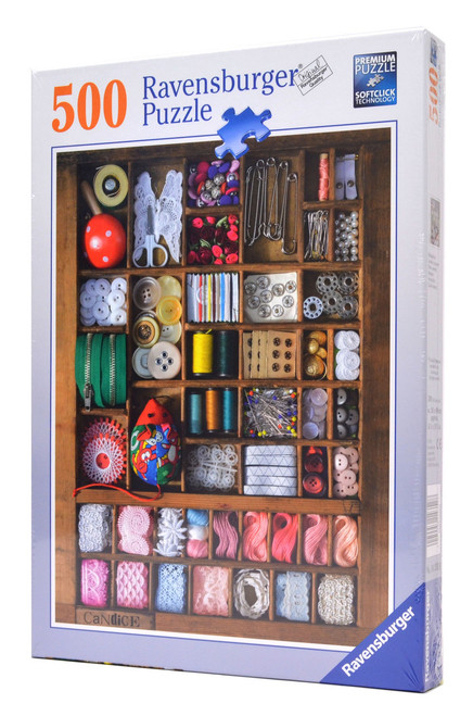 Sewing Box (500 Piece Ravensburger Puzzle)