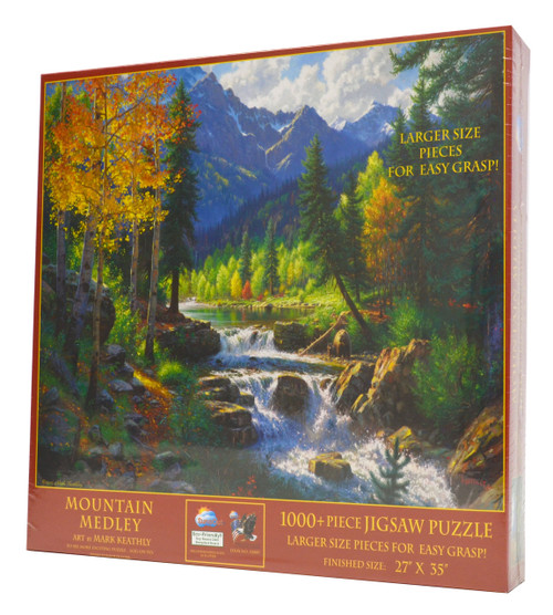 Mountain Medley (Large Piece Puzzle)