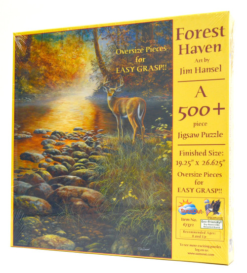 Forest Haven (Large Piece)