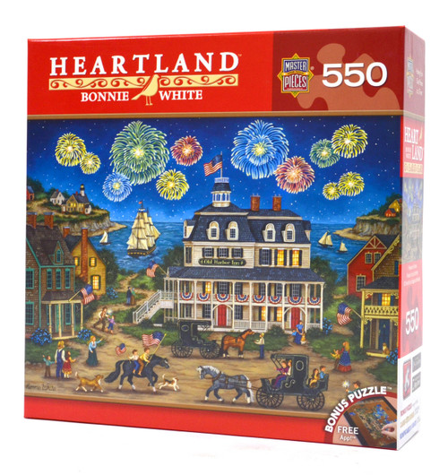Fireworks Finale - Heartland Puzzle