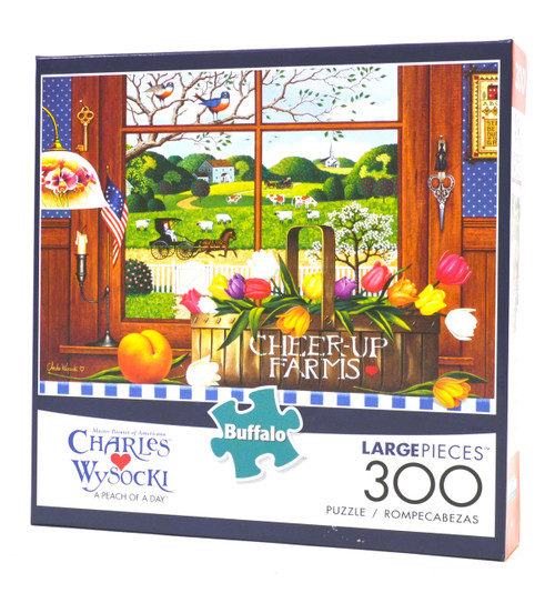 A Peach of A Day (Wysocki 300 Large Piece Puzzle)