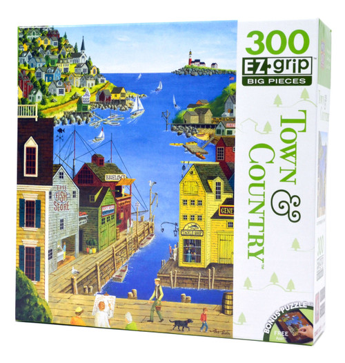 A Walk on the Pier (Large Piece Puzzle)