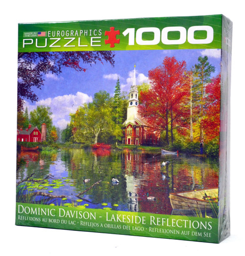 Lakeside Reflections puzzle