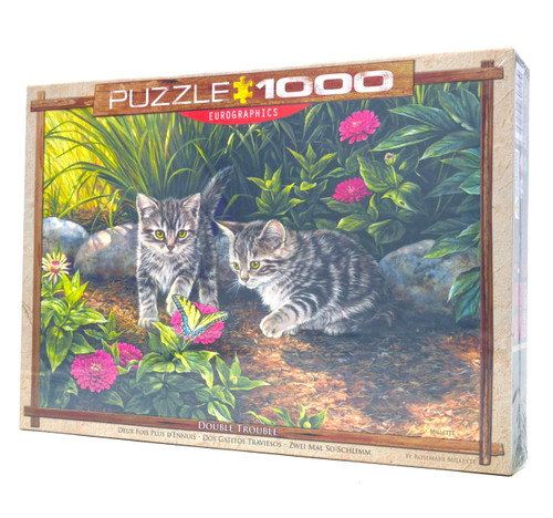 Double Trouble Jigsaw Puzzle