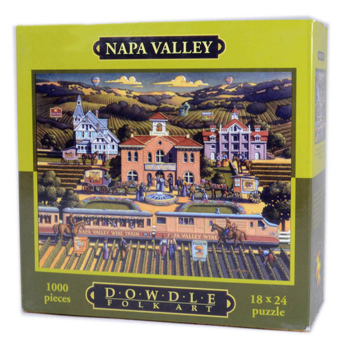 Napa Valley Jigsaw Puzzle by Eric Dowdle