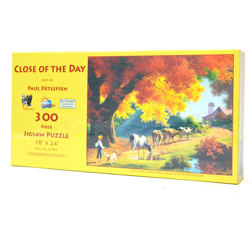 Close of the Day (Large Piece Puzzle)