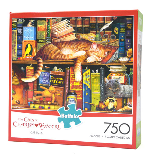 Cat Tales (Cats of Wysocki Jigsaw Puzzle)