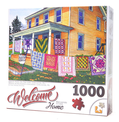 Quilts Nine on the Line