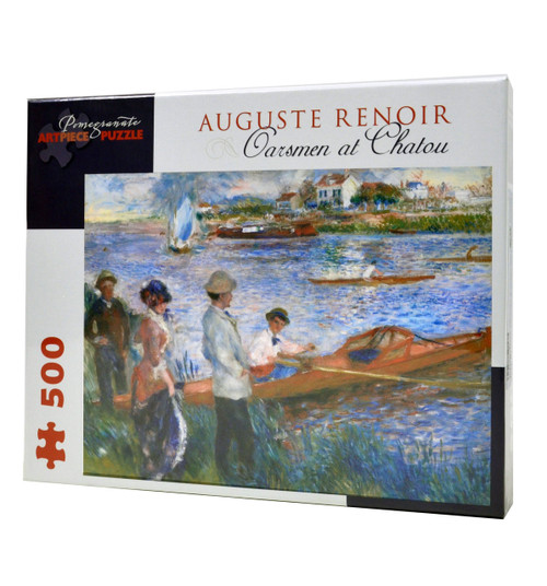 Oarsmen at Chatou puzzle by Auguste Renoir