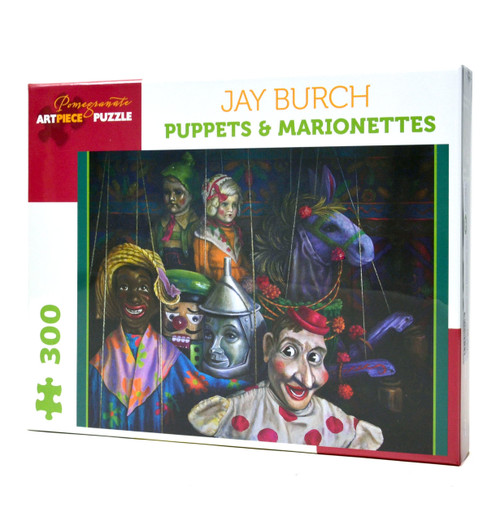 Puppets and Marionettes large piece puzzle
