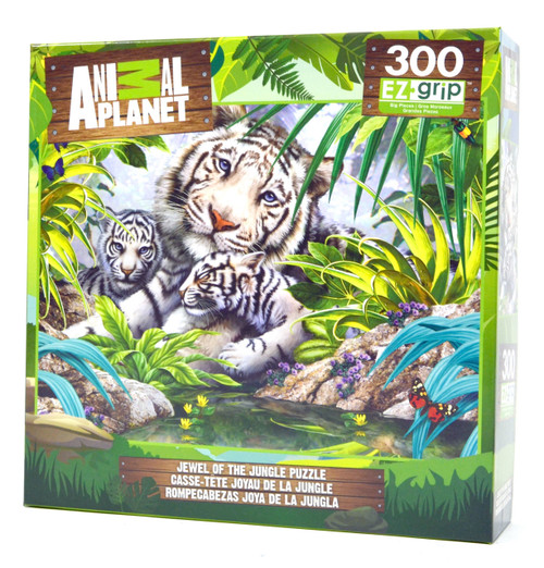 Jewel of the Jungle (Large Piece Puzzle)