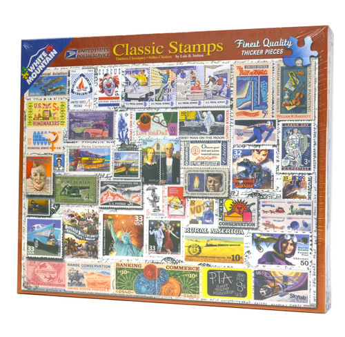 Classic Stamps Puzzle