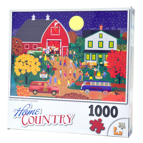 Barn Dance (1000-Piece Jigsaw Puzzle)
