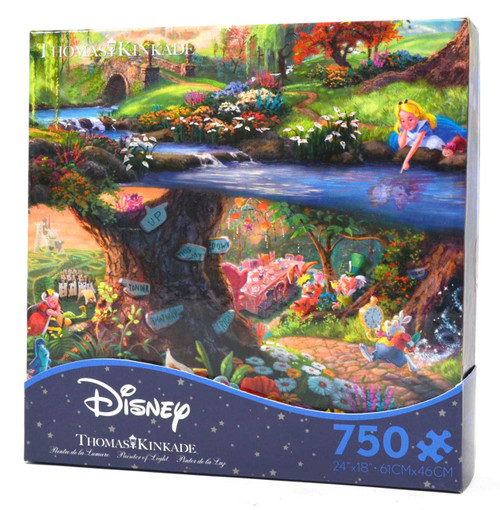 Alice in Wonderland - Thomas Kinkade - Disney