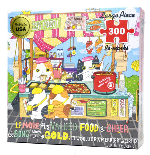 Street Food (Large Piece Puzzle)