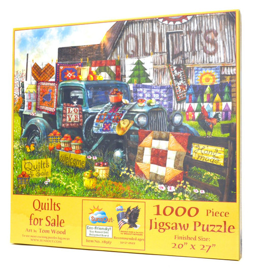 Quilts for Sale Jigsaw Puzzle