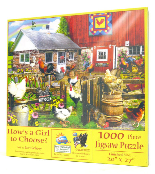 How's a Girl to Choose? Puzzle