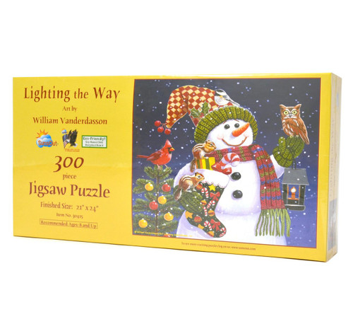 Lighting the Way 300-piece puzzle