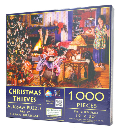 Christmas Thieves Jigsaw Puzzle