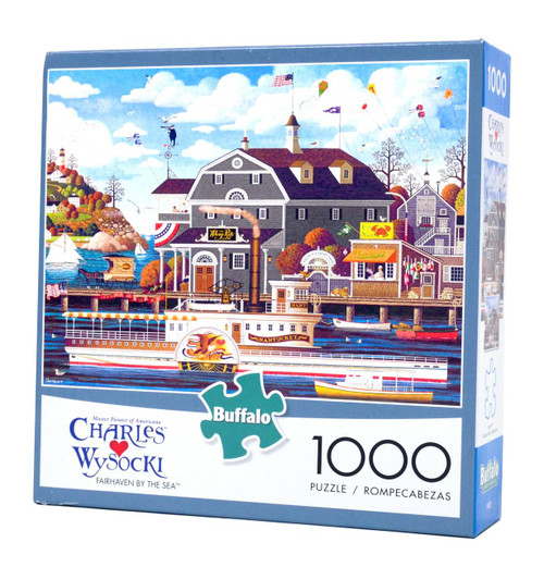 Fairhaven by the Sea 1000-piece jigsaw puzzle