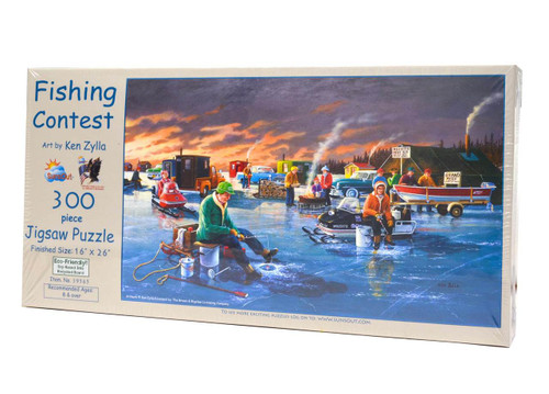 Fishing Contest Large Piece Puzzle