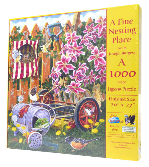 A Fine Nesting Place Jigsaw Puzzle