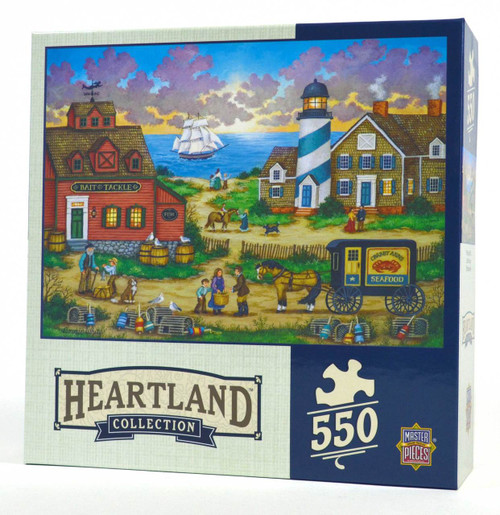 The Day's End (Heartland) Jigsaw Puzzle