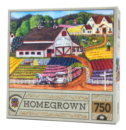 Fresh Flowers (Homegrown) puzzle