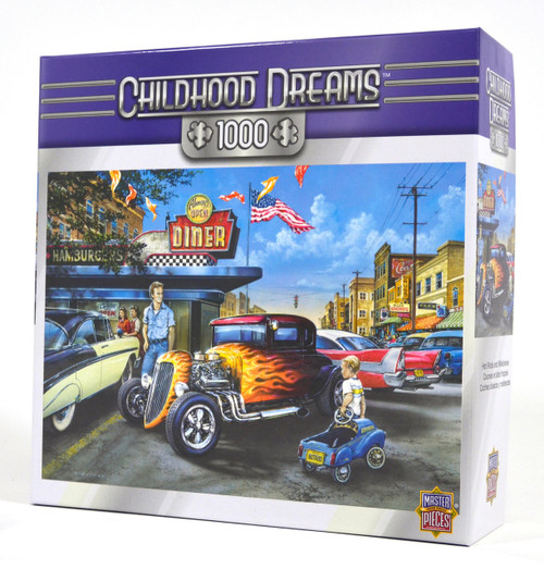 Hot Rods and Milkshakes Jigsaw Puzzle