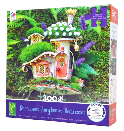 Victorian Mossy Cottage Jigsaw Puzzle