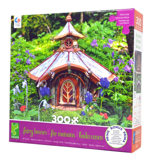 Golden Cottage in Alpine Garden Puzzle