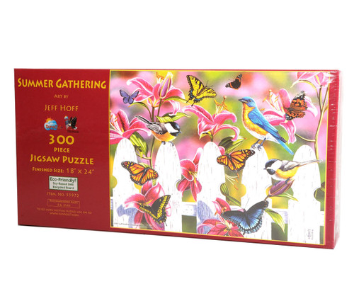 Summer Gathering (300 Large Piece Jigsaw Puzzle)